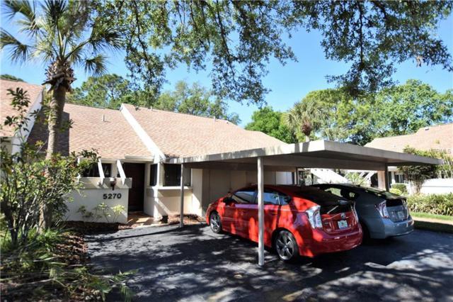5270 Myrtle Wood #27, Sarasota, FL 34235 (MLS #A4214285) :: The Duncan Duo Team