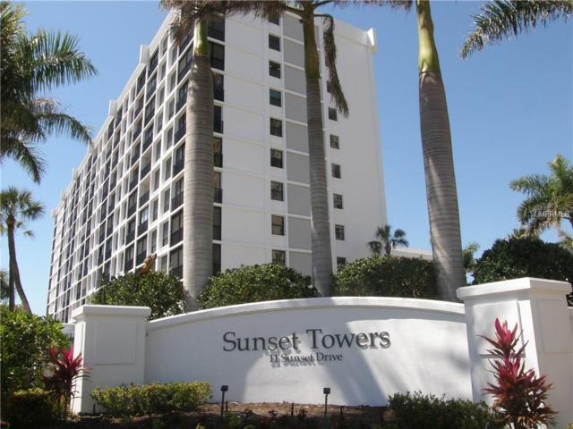11 Sunset Drive #206, Sarasota, FL 34236 (MLS #A4214469) :: The Duncan Duo Team