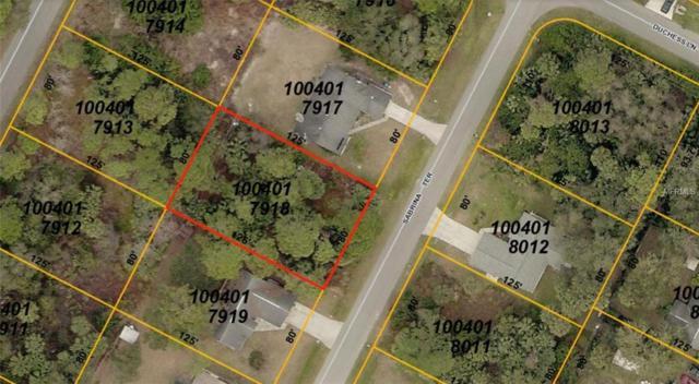 Sabrina Terrace, North Port, FL 34286 (MLS #A4214745) :: RE/MAX Realtec Group