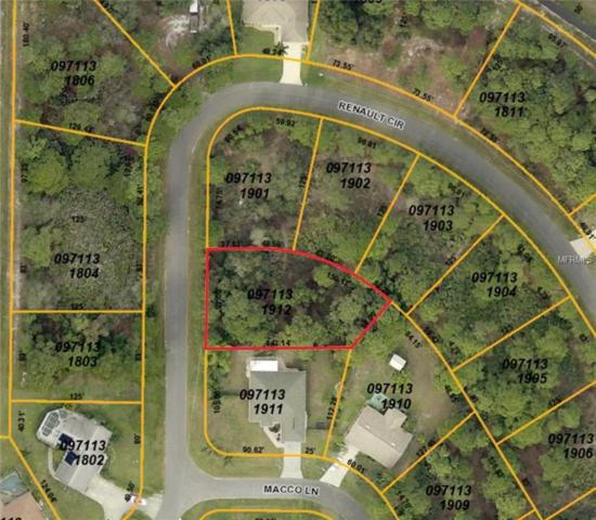 Renault Circle, North Port, FL 34291 (MLS #A4215184) :: G World Properties