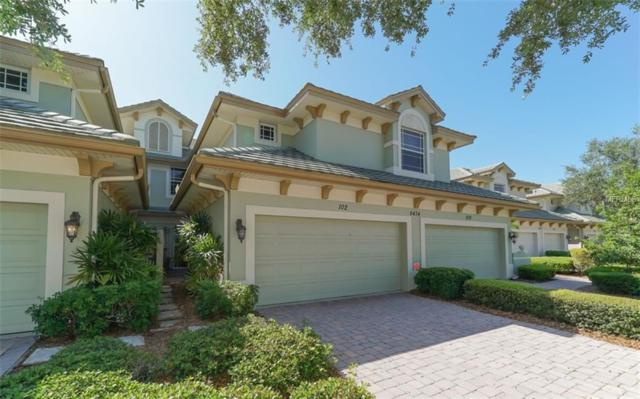 6434 Moorings Point Circle #102, Lakewood Ranch, FL 34202 (MLS #A4215955) :: The Duncan Duo Team