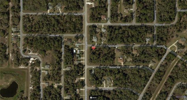Jericho Avenue, North Port, FL 34288 (MLS #A4400043) :: KELLER WILLIAMS CLASSIC VI