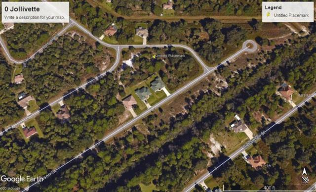 Jollivette Road, North Port, FL 34288 (MLS #A4400213) :: KELLER WILLIAMS CLASSIC VI