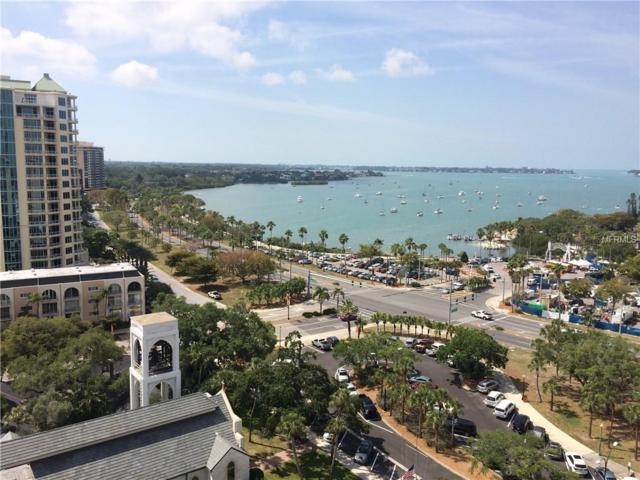 101 S Gulfstream Avenue 16E, Sarasota, FL 34236 (MLS #A4401129) :: Zarghami Group