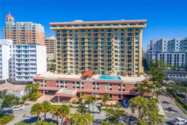 101 S Gulfstream Avenue 16G, Sarasota, FL 34236 (MLS #A4403853) :: Team Bohannon Keller Williams, Tampa Properties