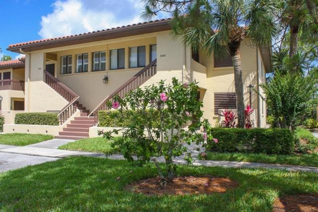 5241 Lake Village Drive #34, Sarasota, FL 34235 (MLS #A4404257) :: Lovitch Realty Group, LLC