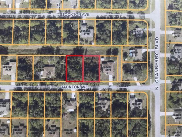 Taunton Avenue, North Port, FL 34286 (MLS #A4404691) :: The Lockhart Team