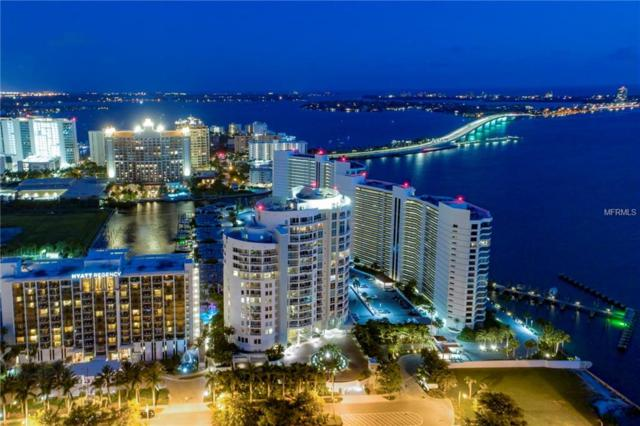 990 Blvd Of The Arts #1800, Sarasota, FL 34236 (MLS #A4405592) :: The Duncan Duo Team