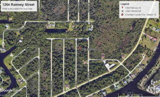 1256 Ramsey Street, Port Charlotte, FL 33953 (MLS #A4406161) :: Griffin Group