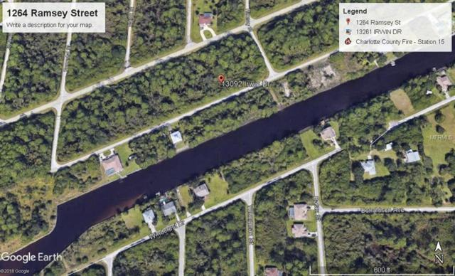 13092 Irwin Drive, Port Charlotte, FL 33953 (MLS #A4406162) :: Griffin Group