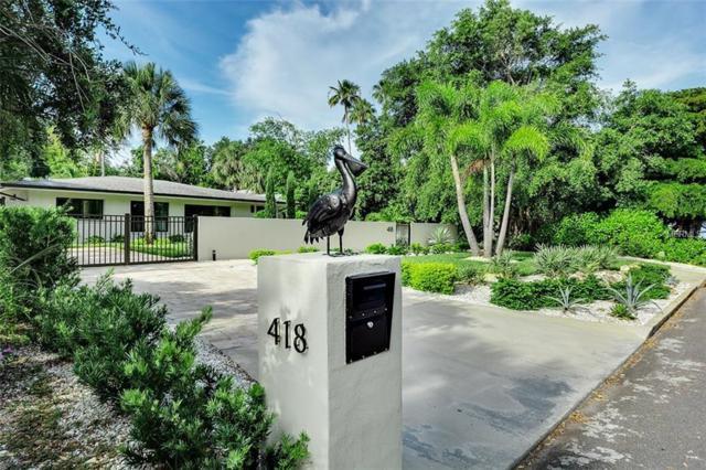 418 Sapphire Drive, Sarasota, FL 34234 (MLS #A4406214) :: Medway Realty