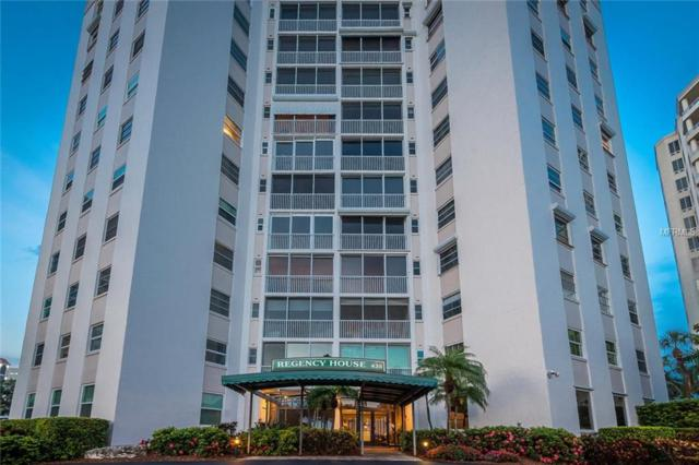 435 S Gulfstream Avenue #1008, Sarasota, FL 34236 (MLS #A4406541) :: McConnell and Associates