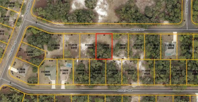 Sweden Avenue, North Port, FL 34288 (MLS #A4408528) :: Medway Realty