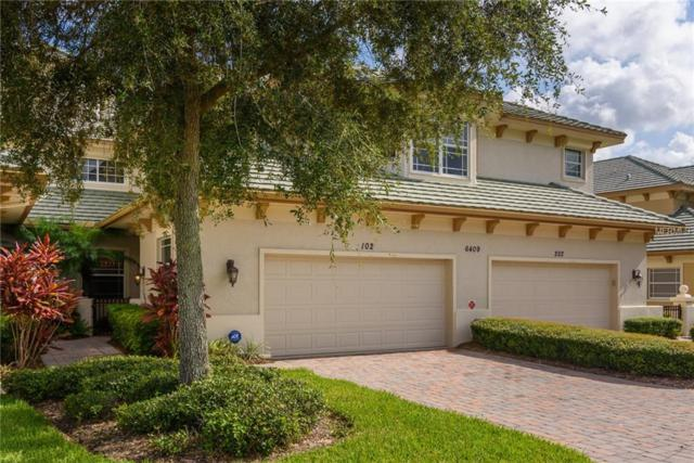 6409 Moorings Point Circle #102, Lakewood Ranch, FL 34202 (MLS #A4409941) :: The Duncan Duo Team