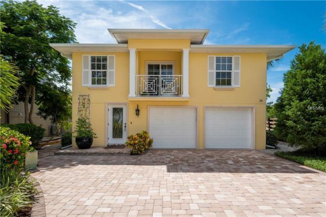 16 Island Circle, Sarasota, FL 34242 (MLS #A4411014) :: McConnell and Associates