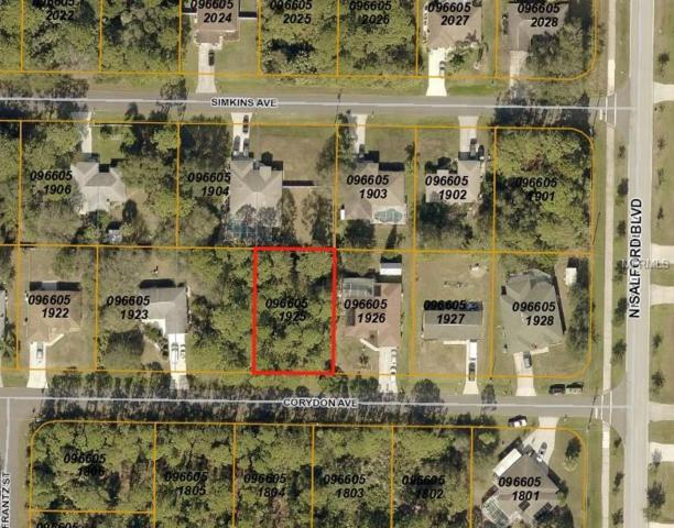 Corydon Avenue, North Port, FL 34286 (MLS #A4411265) :: Medway Realty