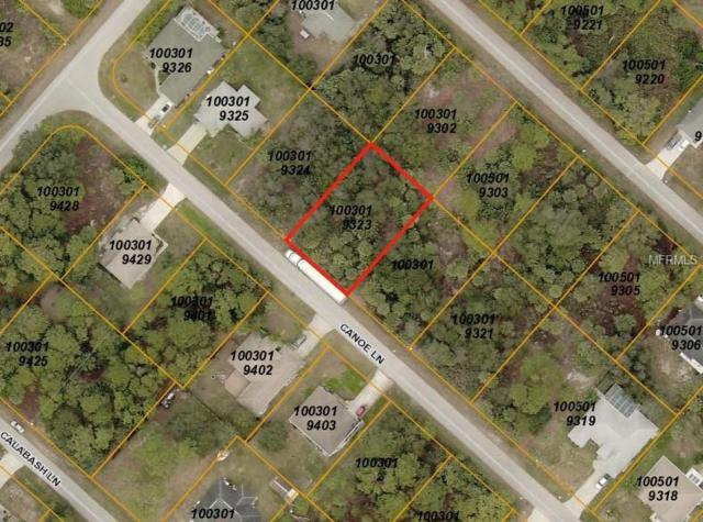 Canoe Lane, North Port, FL 34286 (MLS #A4411302) :: Medway Realty