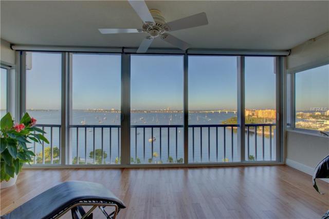 555 S Gulfstream Avenue #1503, Sarasota, FL 34236 (MLS #A4416278) :: Armel Real Estate
