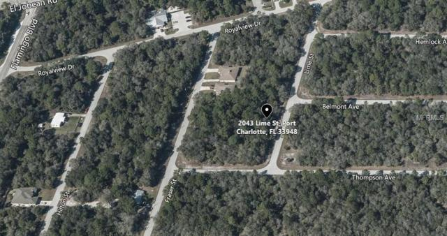 2043 Lime Street, Port Charlotte, FL 33948 (MLS #A4416866) :: Delgado Home Team at Keller Williams
