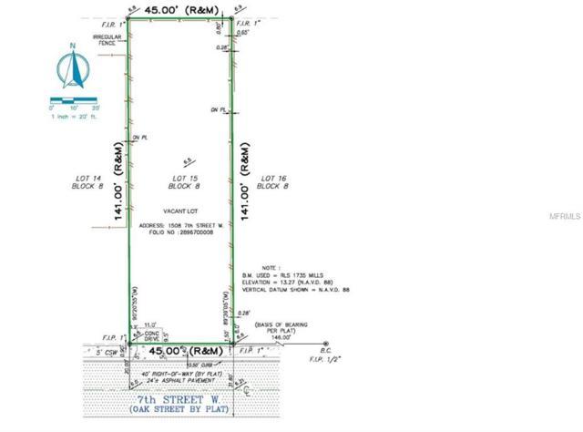 1508 7TH Street W, Palmetto, FL 34221 (MLS #A4418991) :: The Duncan Duo Team