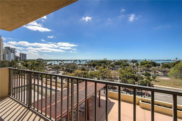 101 S Gulfstream Avenue 6J, Sarasota, FL 34236 (MLS #A4419167) :: Zarghami Group