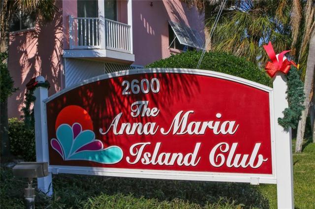 2600 Gulf Drive N #18, Bradenton Beach, FL 34217 (MLS #A4422412) :: Medway Realty