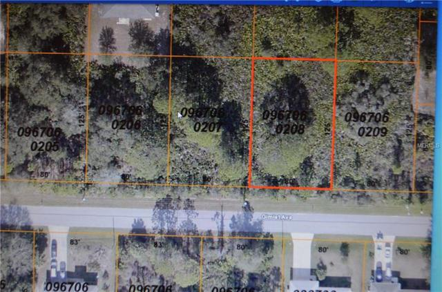 Gimlet Avenue, North Port, FL 34291 (MLS #A4424661) :: White Sands Realty Group