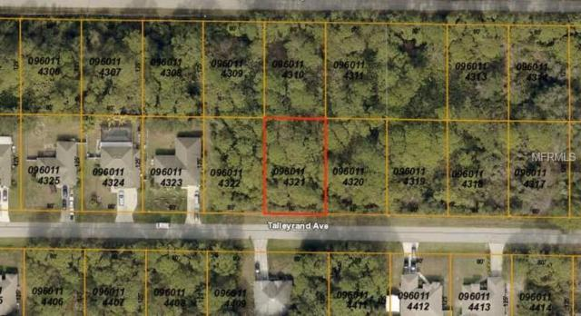Talleyrand Avenue, North Port, FL 34286 (MLS #A4427057) :: Zarghami Group