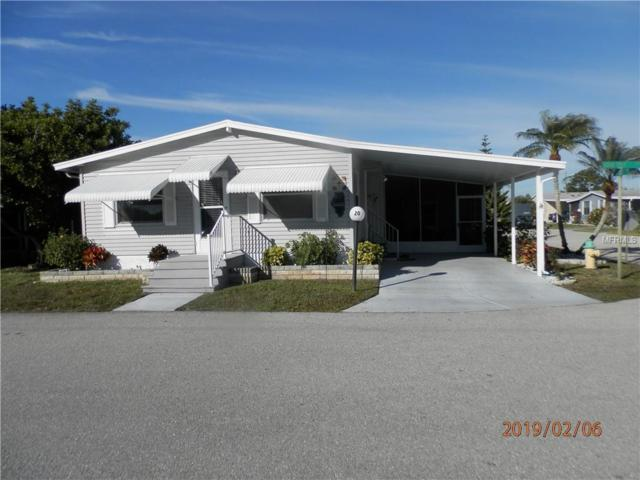 5707 45TH Street E #20, Bradenton, FL 34203 (MLS #A4427498) :: Medway Realty