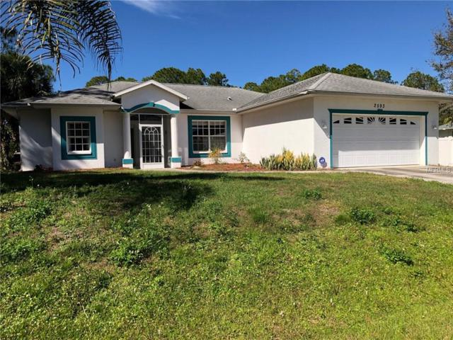 2593 Bay City Terrace, North Port, FL 34286 (MLS #A4427558) :: Griffin Group
