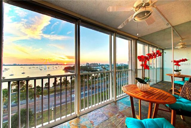 435 S Gulfstream Avenue #902, Sarasota, FL 34236 (MLS #A4427928) :: McConnell and Associates