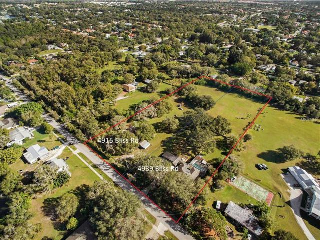 4915 Bliss Road, Sarasota, FL 34233 (MLS #A4428158) :: The Figueroa Team