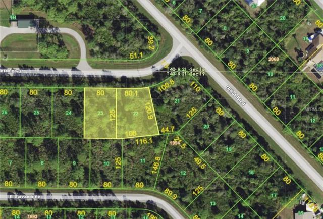 12083 & 12091 Van Lenten Boulevard, Port Charlotte, FL 33981 (MLS #A4429180) :: RE/MAX Realtec Group