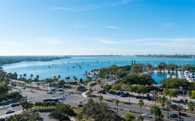 101 S Gulfstream Avenue 15F, Sarasota, FL 34236 (MLS #A4430101) :: Premium Properties Real Estate Services
