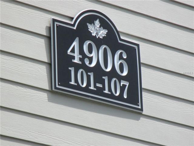 4906 25TH Street W #105, Bradenton, FL 34207 (MLS #A4431879) :: Lovitch Realty Group, LLC