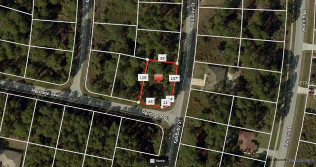 Kabbaby Street, North Port, FL 34288 (MLS #A4432034) :: Cartwright Realty