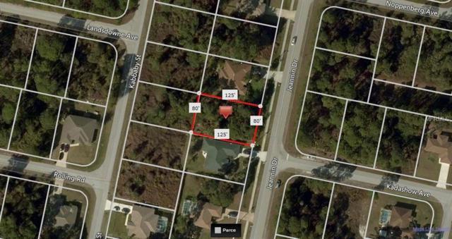 Jeannin Drive, North Port, FL 34288 (MLS #A4432085) :: Delgado Home Team at Keller Williams