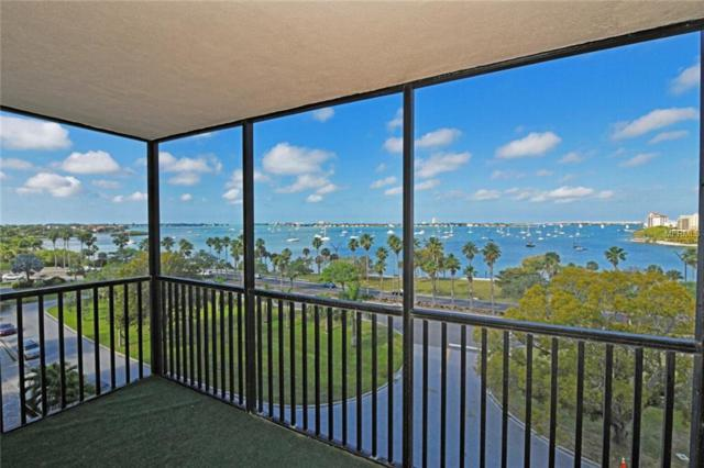707 S Gulfstream Avenue #601, Sarasota, FL 34236 (MLS #A4433029) :: McConnell and Associates