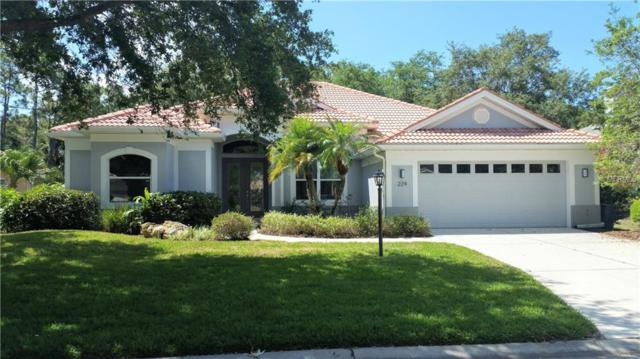 224 Park Trace Boulevard, Osprey, FL 34229 (MLS #A4433224) :: The Comerford Group