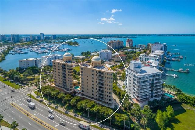 128 Golden Gate Point 902A, Sarasota, FL 34236 (MLS #A4433296) :: McConnell and Associates