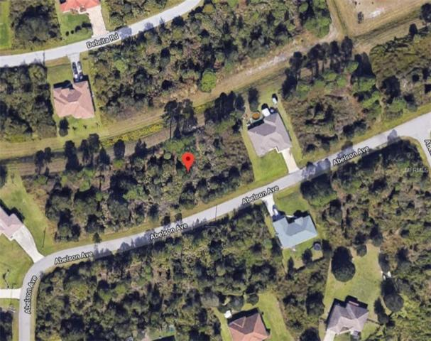 Abelson Avenue, North Port, FL 34291 (MLS #A4433311) :: Cartwright Realty