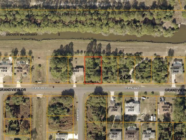 Grandview (Canal) Drive, North Port, FL 34288 (MLS #A4433580) :: Team Bohannon Keller Williams, Tampa Properties