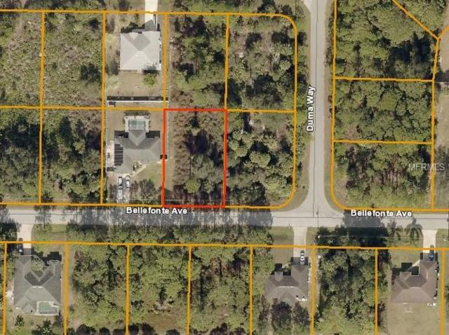 Bellefonte Avenue, North Port, FL 34286 (MLS #A4437122) :: Ideal Florida Real Estate