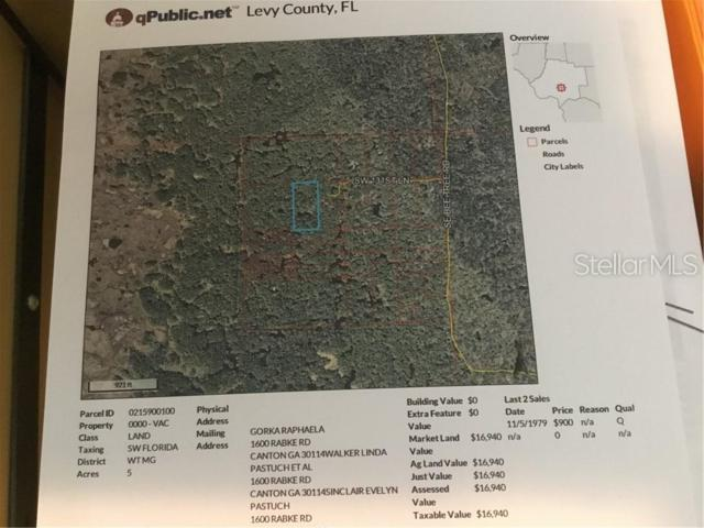Sw131st Lane, Inglis, FL 34449 (MLS #A4437452) :: Cartwright Realty