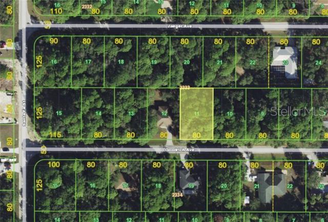 13494 Goodrich Avenue, Port Charlotte, FL 33953 (MLS #A4438007) :: The Edge Group at Keller Williams