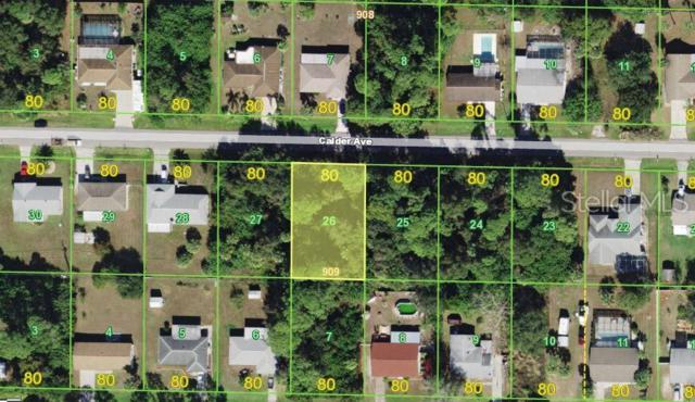 20375 Calder Avenue, Port Charlotte, FL 33954 (MLS #A4438820) :: The Duncan Duo Team