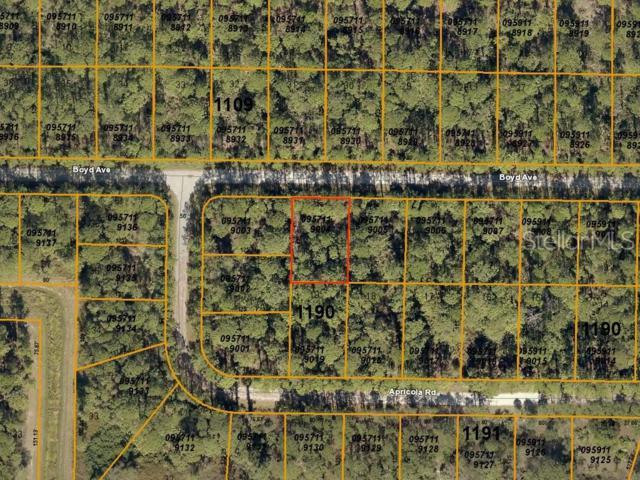 Boyd Avenue, North Port, FL 34286 (MLS #A4439116) :: Team Pepka