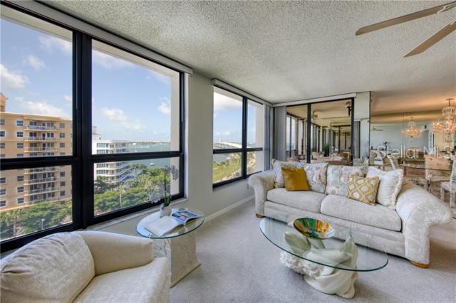 11 Sunset Drive #804, Sarasota, FL 34236 (MLS #A4439387) :: Lock & Key Realty