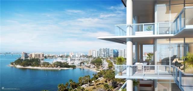 605 S Gulfstream Avenue 8S, Sarasota, FL 34236 (MLS #A4441120) :: Armel Real Estate