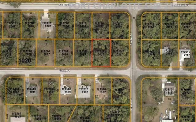 Italy Avenue, North Port, FL 34288 (MLS #A4441784) :: Cartwright Realty